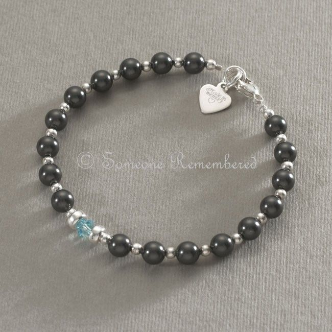 Made In Memory Birthstone Bracelet Someone Remembered